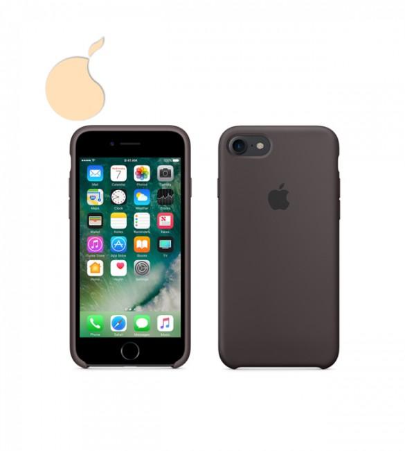 Силиконовый чехол Apple Silicone Case iPhone 7 COCOA