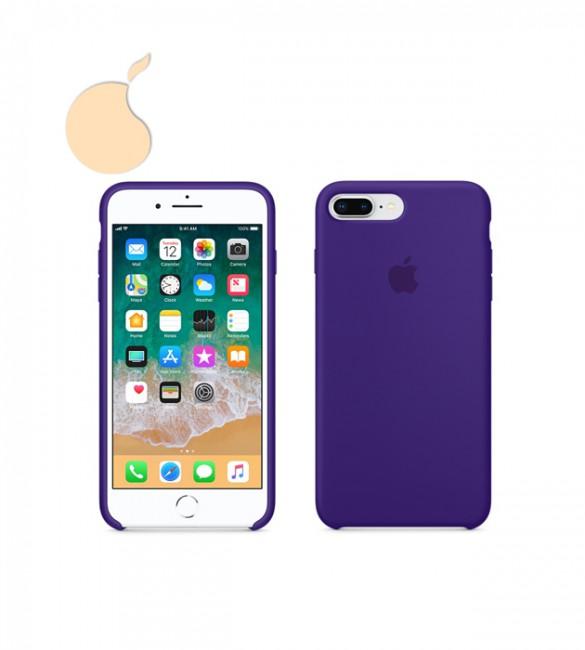 Силиконовый чехол Apple Silicone Case iPhone 8 Plus / 7 Plus - ULTRA VIOLET