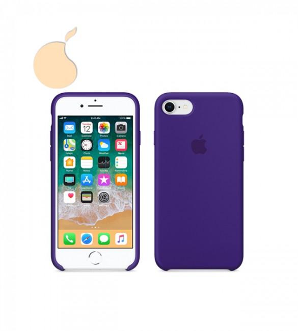 Силиконовый чехол Apple Silicone Case iPhone 8 ULTRA VIOLET