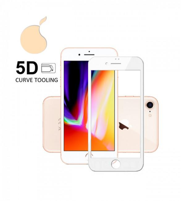 Защитное 5D стекло iPhone 8