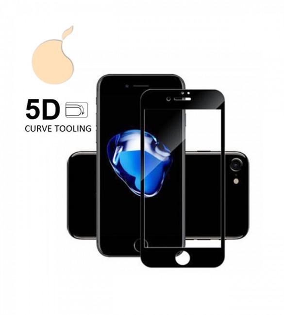 Защитное 5D стекло iPhone 7 (Black)