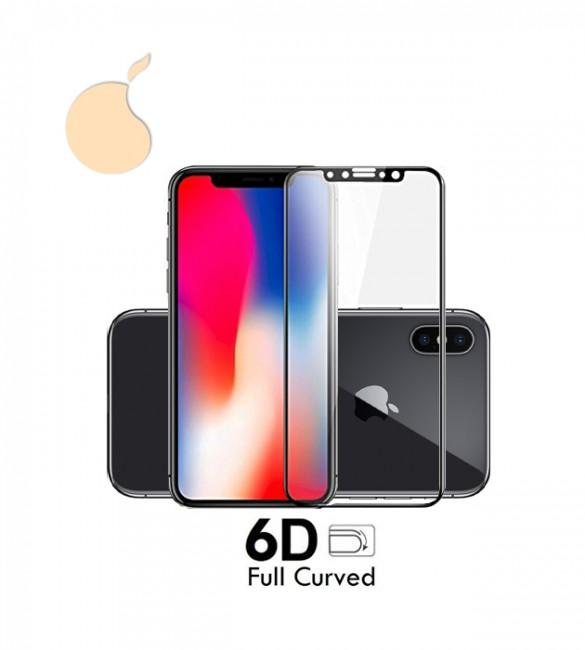 Защитное 6D стекло iPhone X