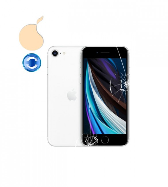 Замена стекла iPhone SE 2020