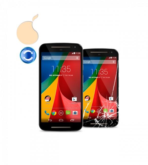 Замена стекла Motorola G2