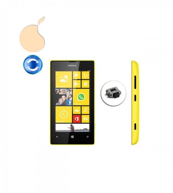 Замена кнопки включения / блокировки (Power) Nokia Lumia 520