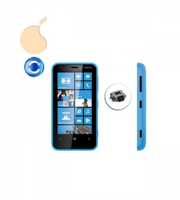 Замена кнопки включения / блокировки (Power) Nokia Lumia 620