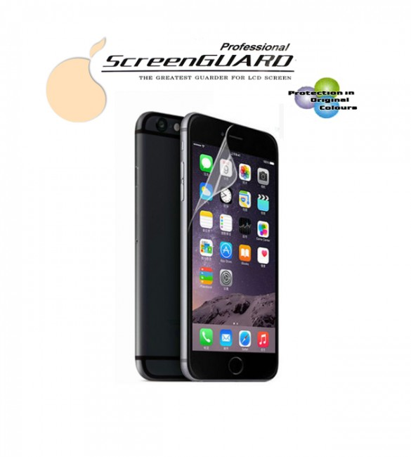 Защитная пленка iPhone 6 / 6S (2в1)